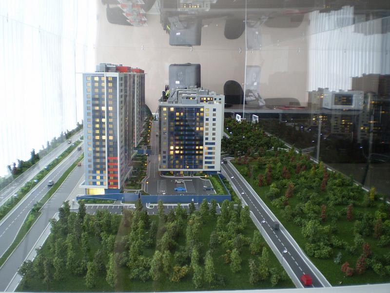 В ЖК «Прибалтийский» будут эргономичные планировки, потолки 2,8 метра, металлические двери с шумоизоляцией.