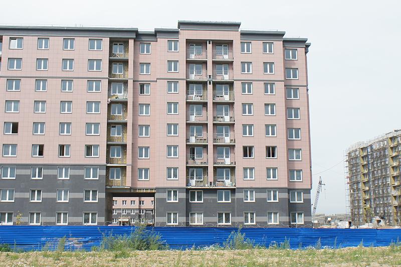 в 25 тысячах квартир будут жить 45-50 тысяч жителей