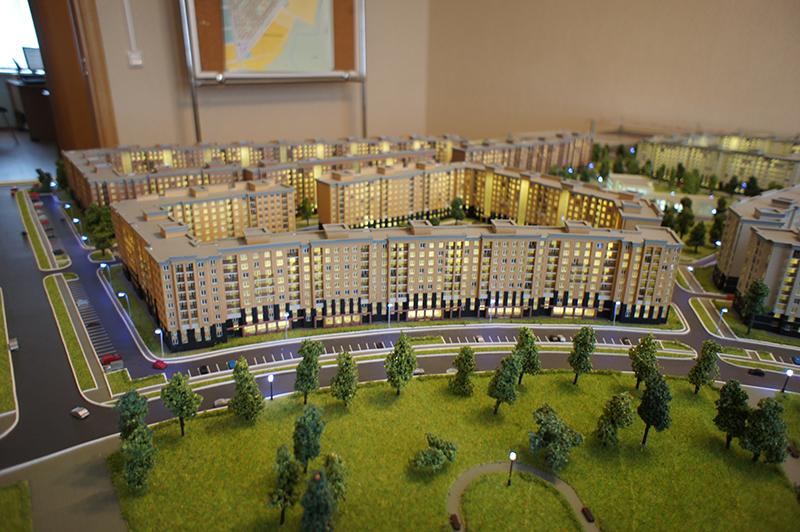 Стоимость трехкомнатной квартиры от 5 млн 306 тысяч до 7 млн 41 тысяч рублей