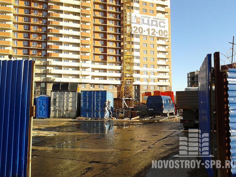 ЖК «Пулковский» - это 25-этажное здание с многоуровневым паркингом.