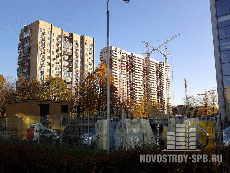 Пулковское шоссе — возможно, не самое экологически чистое место в городе, но одно из самых удобных.