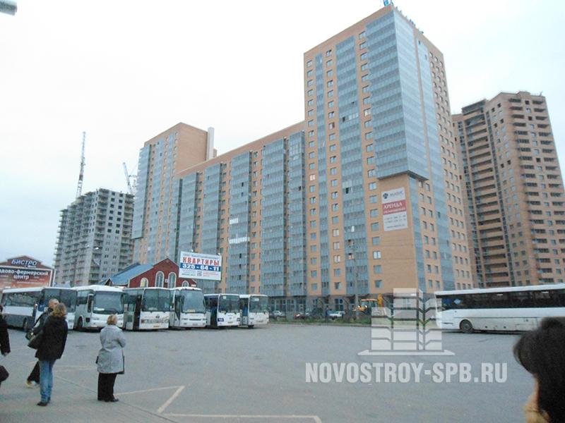 ЖК «Мечта» строится у м. Девяткино во Всеволжском районе Ленинградской области