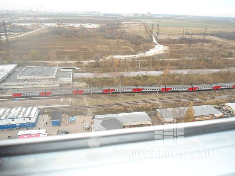 Вид из окна с 18-го этажа