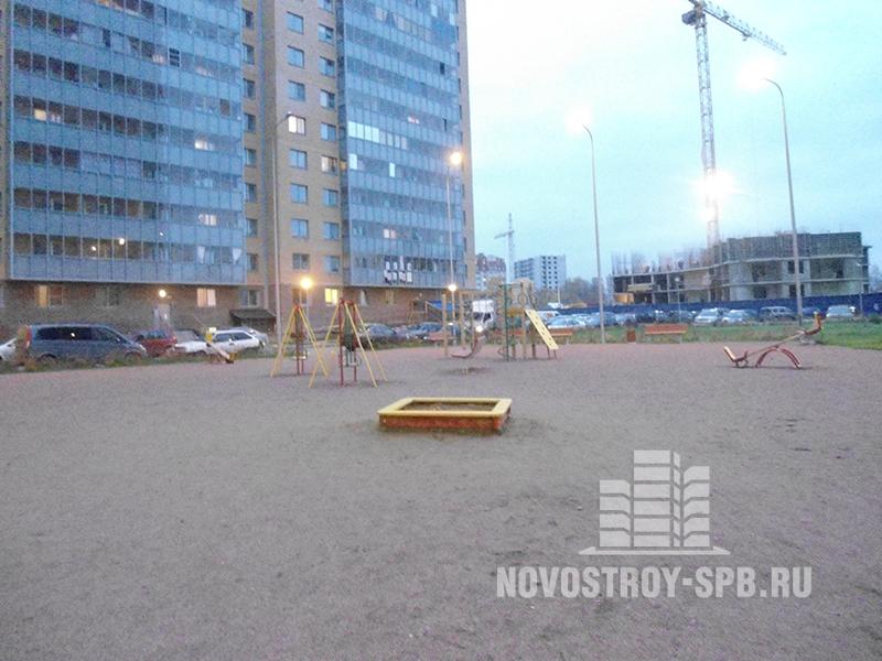 Общая площадь всего жилого комплекса – около 100 тысяч квадратных метров или более 2000 квартир