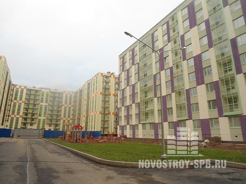 жилой квартал «Вена» состоит из 12 домов
