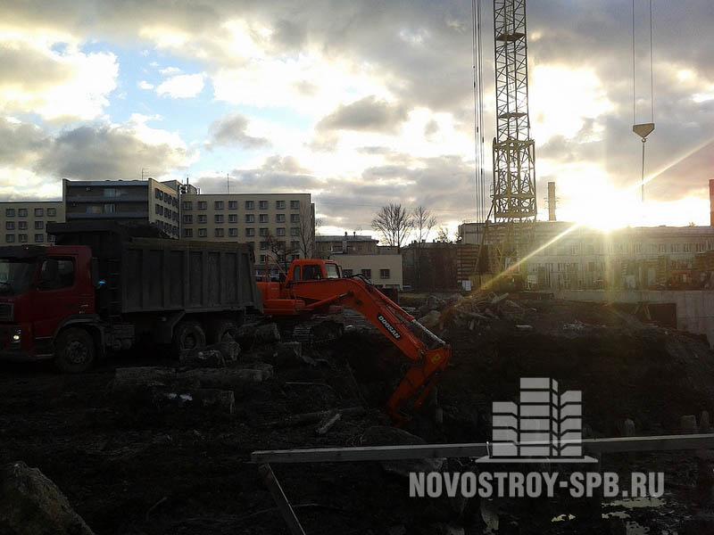 Жилой комплекс будет построен две очереди строительства, в рамках которых появятся 12 корпусов