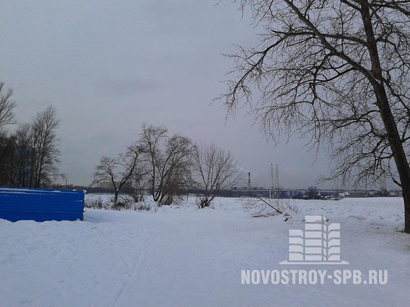 Площадь студий начинается с 27 квадратных метров, а цена с 2,33 млн рублей.