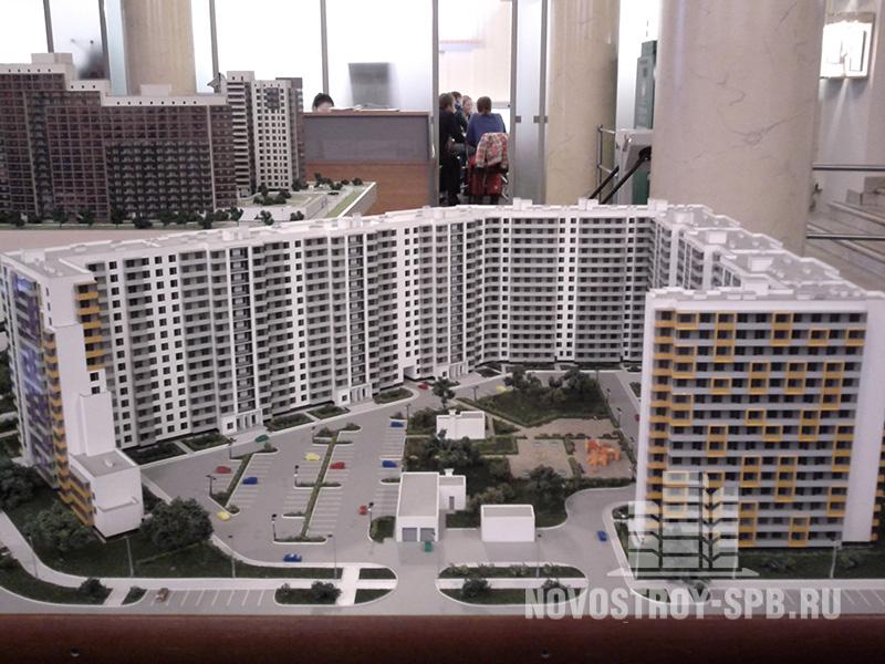 ЖК «Рио» строит компания Setl City на углу улицы Коллонтай и Дальневосточного проспекта