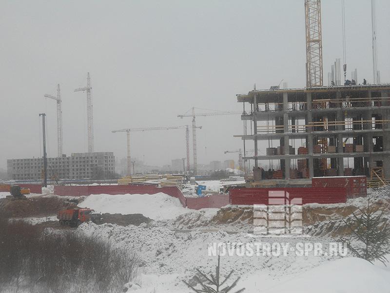 Дом №1 планируется к сдаче в конце 2014 года